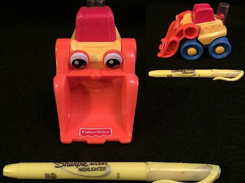 Fisher-Price Happy Vehicles Bulldozer (1999)