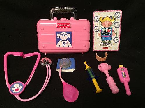FisherPrice Medical Kit Pink/Blue
