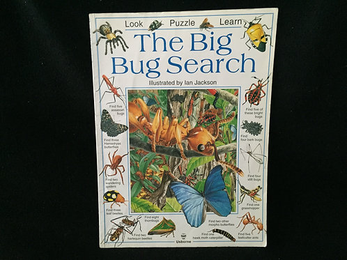 The Big Bug Search Paperback
