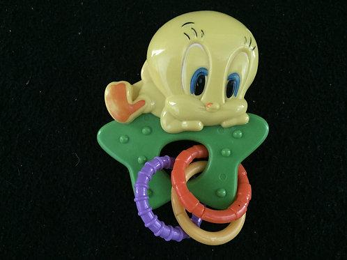 Baby  Tunes Tweety Rattle/teether  by Warner Bros
