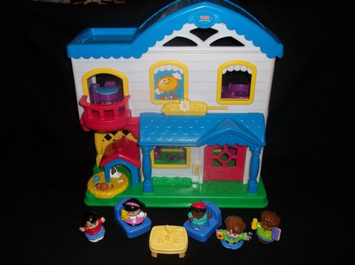 Fisher Price Little People Busy Day Home Kidsheaveninlisle