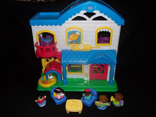 Fisher Price Little People - Busy Day Home