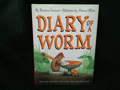 Diary of a Worm Hardcover