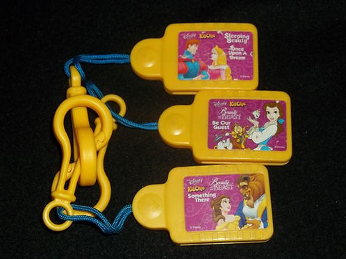 Disney Tunes Kid Clips Music Chips 3 Pack Beauty