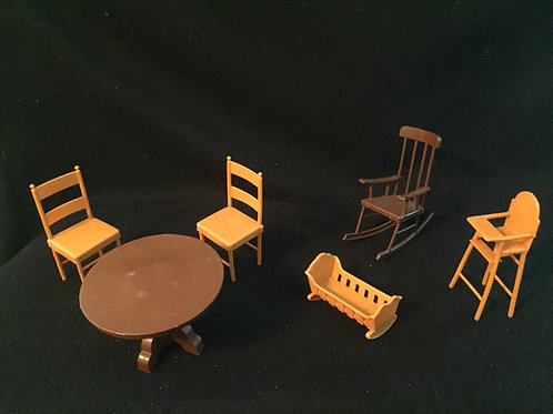 Mattel Sunshine Family Furniture Lot *Vintage