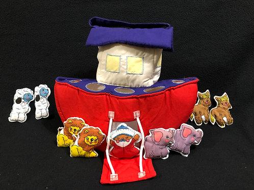 Noah's Ark Plush Set