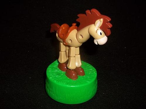 Bullseye Horse Toy Story PVC Figurine Push Puppet