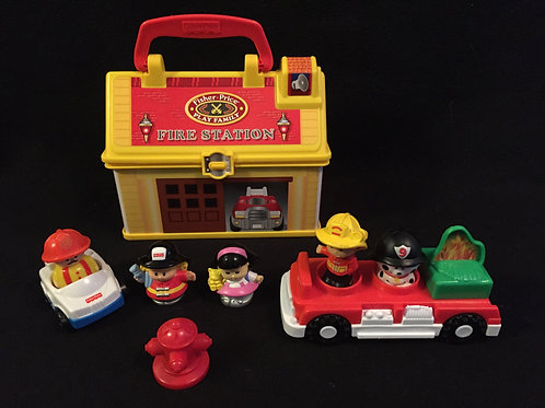 Little people Play and Go Fire Station