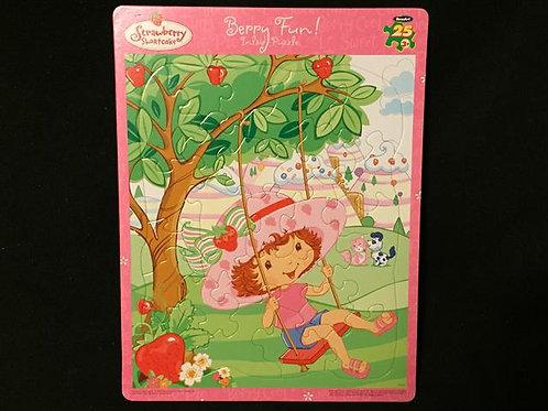 RoseArt Strawberry Shortcake Berry Fun Inlaid Puzz