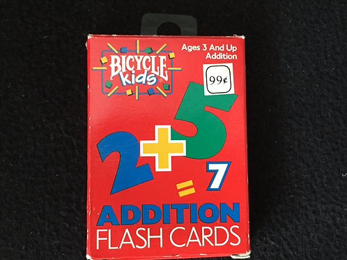 Bicycle Kids Addition Flashcards