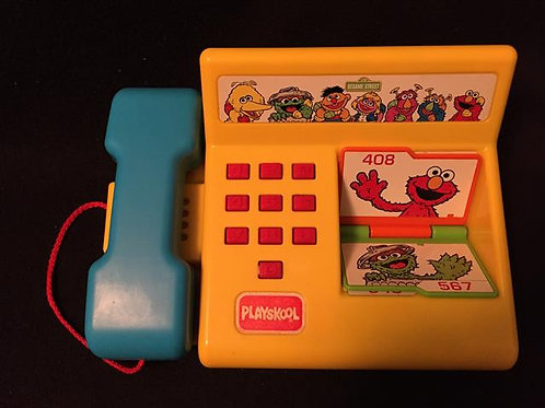 Playskool Item #542 Sesame Street talking phone