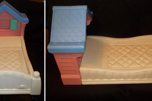 Little Tikes Storybook Country Cottage pink bed