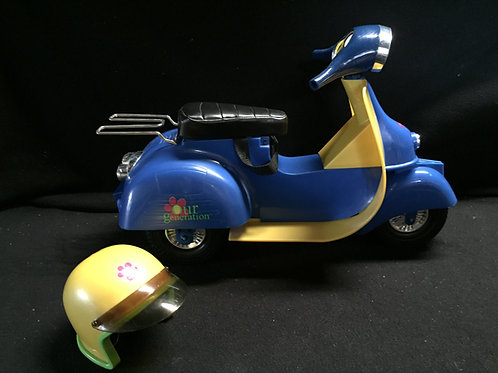 My Generation Doll Scooter with helmet