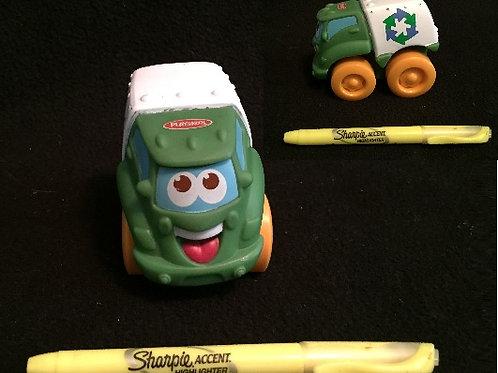 Playskool Wheel Pals -Green/White Recycle