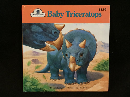 Baby Triceratops Paperback