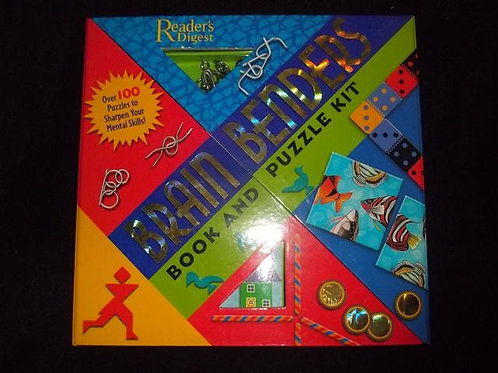 Brain Benders: Book and Puzzle Kit *NEW