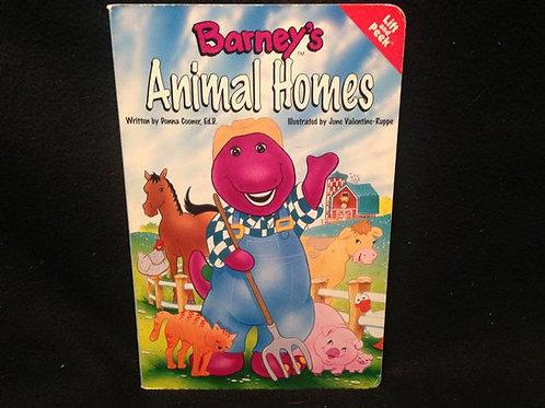 Animal Homes (Barney) Board book Lift and Peek boo