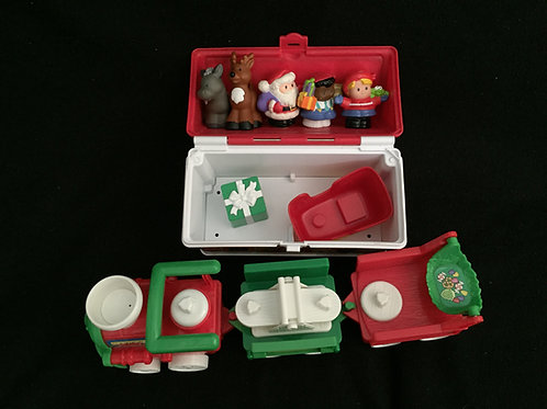 Fisher-Price Little People Christmas Lot