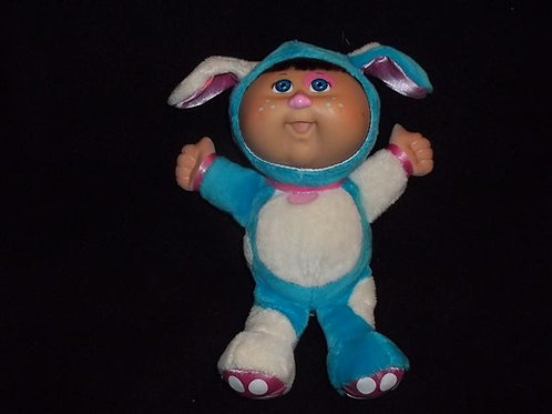 Cabbage patch kids dressed in puppy costume