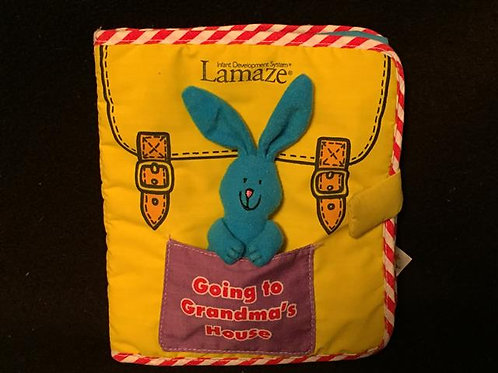 Lamaze Going to Grandma's House Cloth book