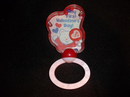 My First Valentines Day Rattle