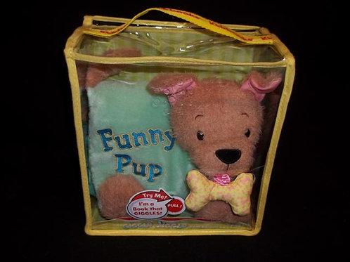 Funny Pup plush book
