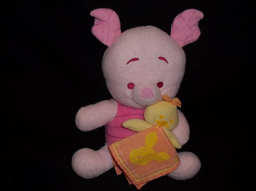 Winnie The Pooh Musical Glow Soft Toy - Piglet