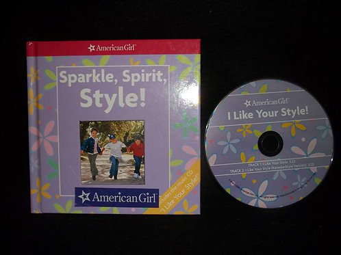American Girl Sparkle, Spirit, Style! with CD