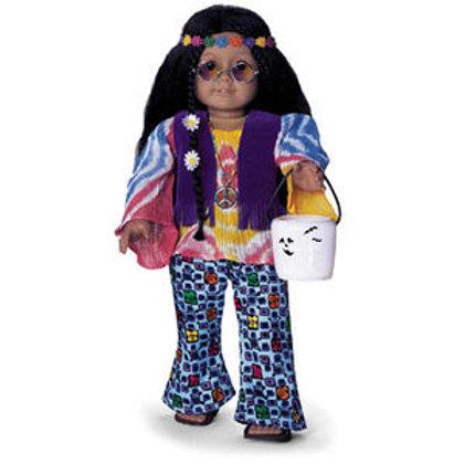 American Girl 60's Hippie Costume