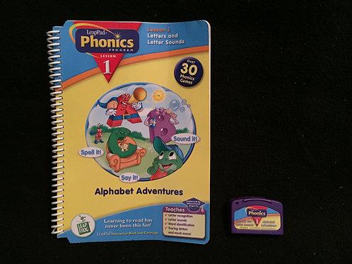 Leap Frog Phonics Book  Alphabet Adventures