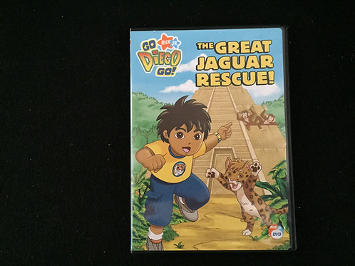 Go Diego Go! The Great Jaguar Rescue! DVD