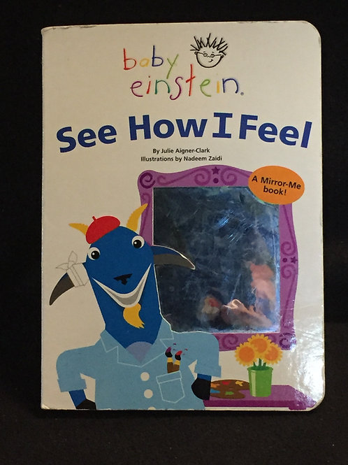Baby Einstein: See How I Feel Board book – April 2, 2004