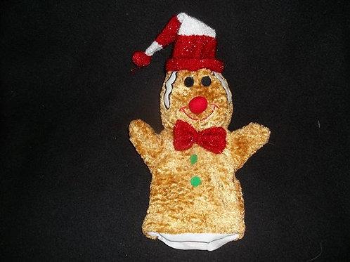 Gingerbread Man Puppet -