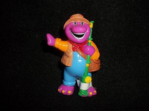 "Barney  2.5"" Figure or cake topper (1998)"