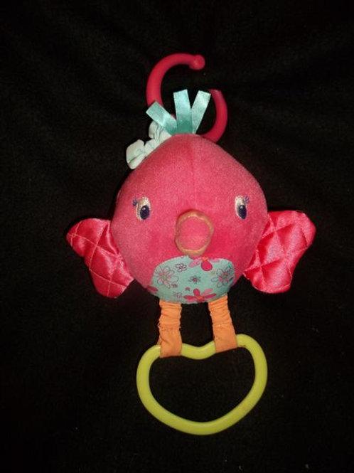 Bright Starts Chime Along Friend-Pink bird