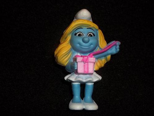 Smurfette figure /  cake topper