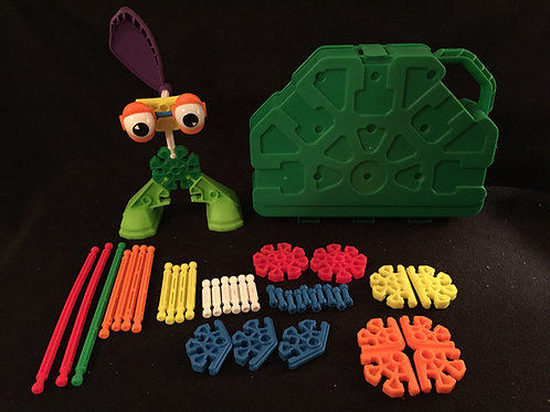 Kids Knex Set - Green