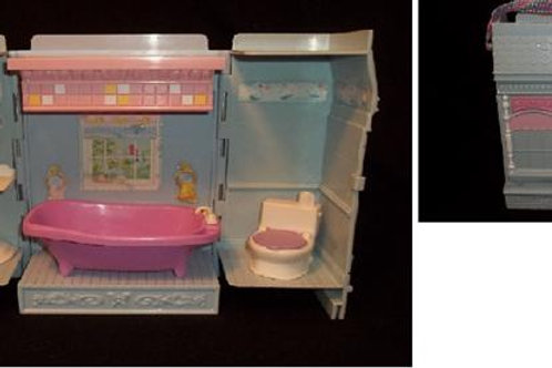 Fisher Price Loving Family New Additions Bathroom