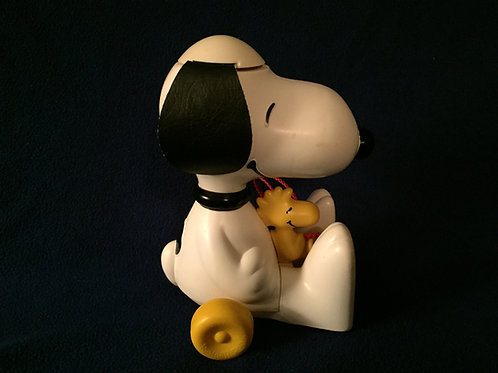 Snoopy Woodstock Pull Toy Hasbro