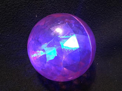 """Super Sized 4"""" Blue/Red Flashing LED Bounce Ball"""