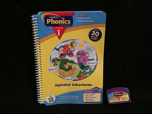 Leap Frog Phonics Book , Alphabet Adventures