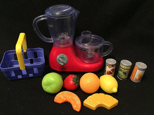 Food Processor Play set Lot
