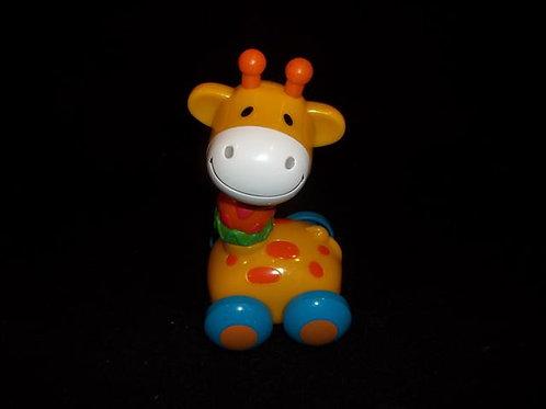 Giraffe Roll Along toy