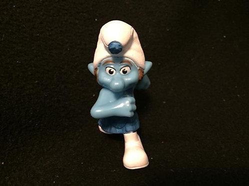 Gutsy Smurf figure /  cake topper
