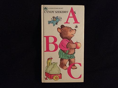 A B C (Golden Sturdy Book) Board book