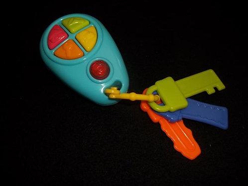 Redbox Baby Toddler Toy Keys w/Light Up Remote & S
