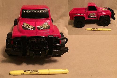 Demolisher 4WD Red Truck