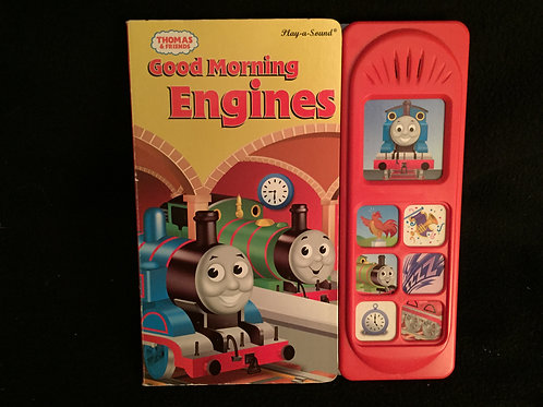 Good Morning Engines Play-a-Sound book