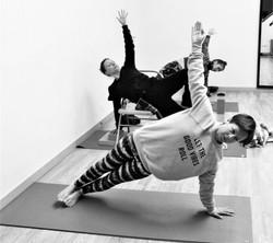 Vasisthasana @ Yoga Paradiso Retreat