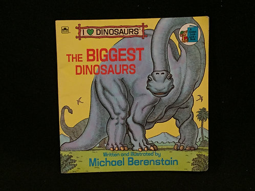 The Biggest Dinosaurs-Softcover-vintage (89)